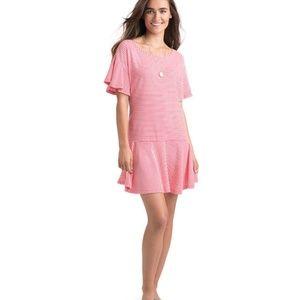 Vineyard Vines Stripe Flutter Dress